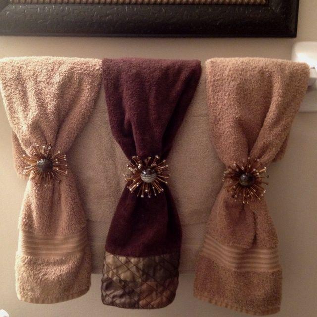 Decorative towels - decorative towels can truly bring a unique - bathroom towel decorating ideas