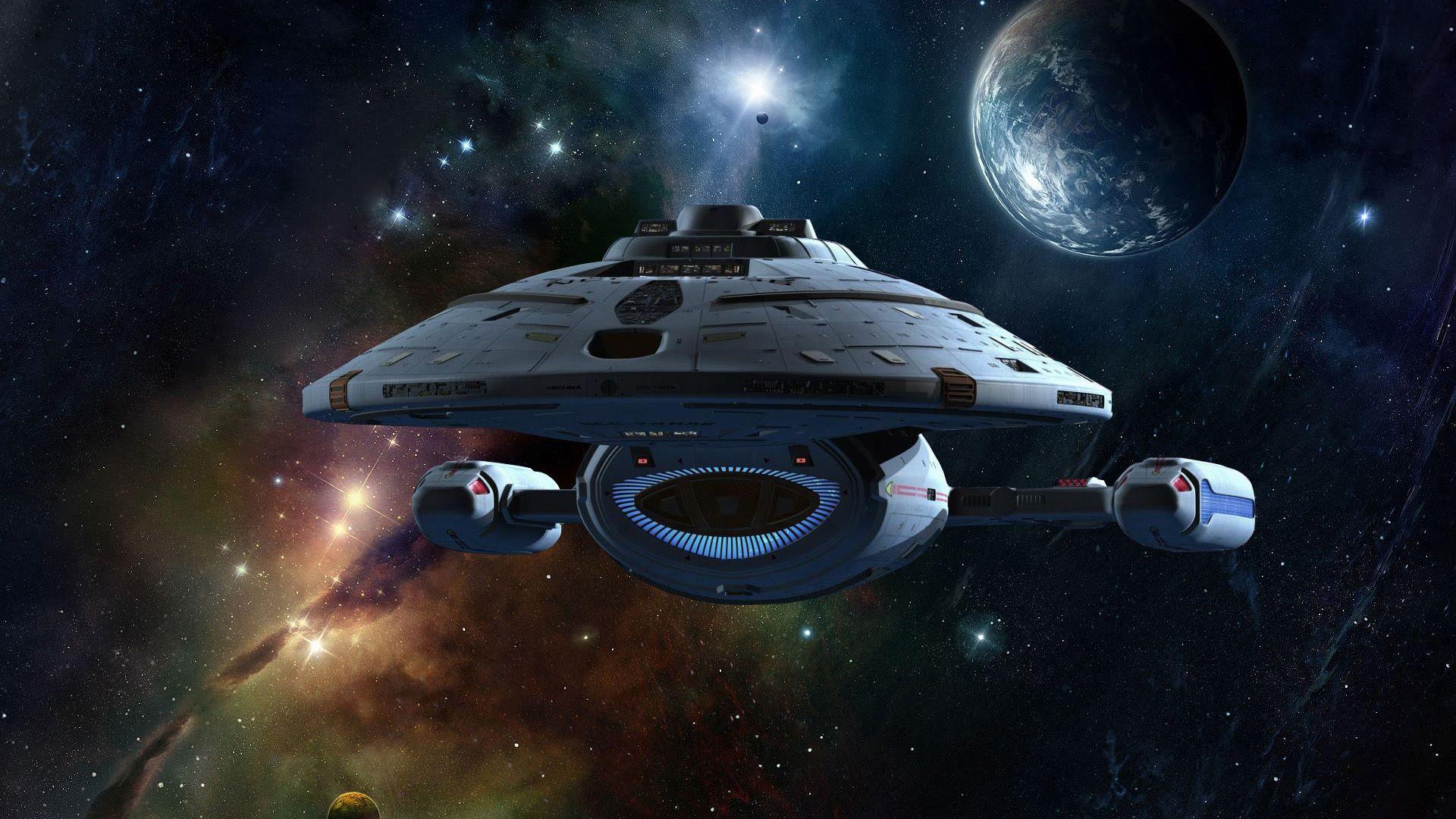 Starship voyager star trek voyager fanart