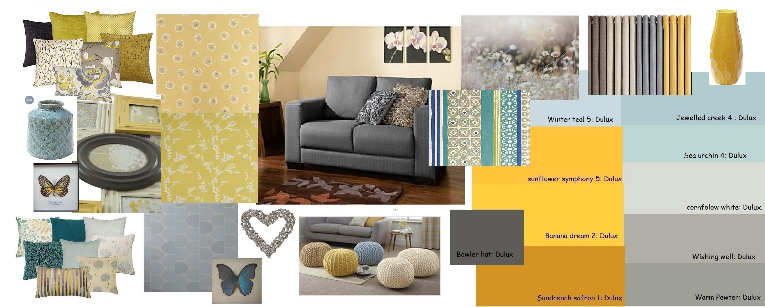 Lichtblauwe Accessoires Woonkamer Mustard Grey Blue Living Room Home Decor Pinterest
