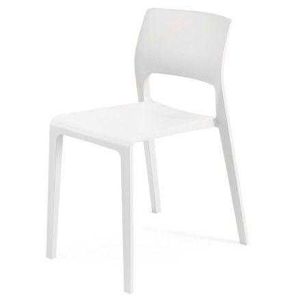 Arper   Juno Stuhl 3600, Weiß Teeküche, Stuhl Und Esszimmer