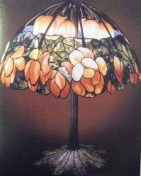Decorative Arts. Lotus table lamp, 1906; Louis Comfort ...