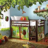 Kids Bedroom Furniture Sets with Jungle Bedroom Theme ...