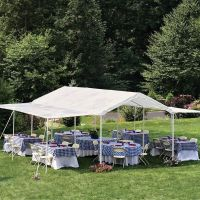 Outdoor Canopy Gazebo Tent Party Wedding 10'x20' White ...