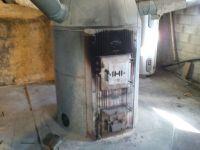 Coal Stove: Coal Stove In Basement