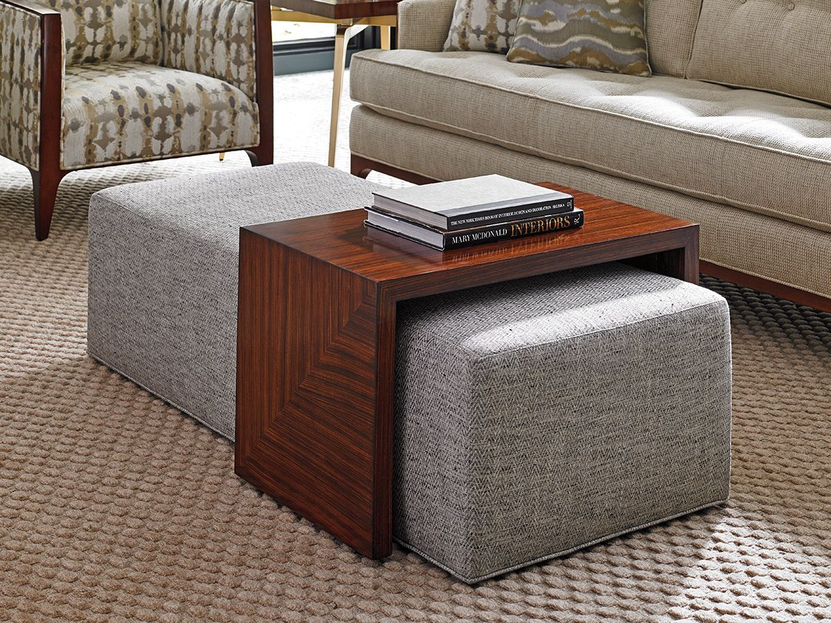 Footstool Coffee Table