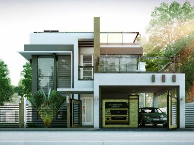 MHD-2012004 Pinoy ePlans - Modern House Designs, Small House - modern small house design