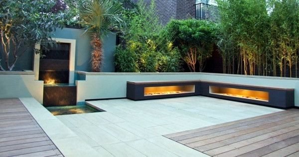 dach terrasse gestalten kleiner wasserfall Ideen rund ums Haus - ideen terrasse gestalten
