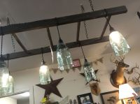 Ladder light fixture with ball jars. | For the Home ...