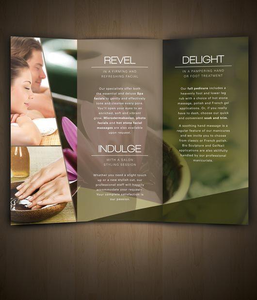 Nav Spa Brochure designed by Amanda Cohen brochure \ magazine - spa brochure