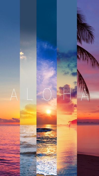 Aloha Summer Stripes iPhone 5 Wallpaper | iPhone Wallpapers | Pinterest | Summer stripes ...