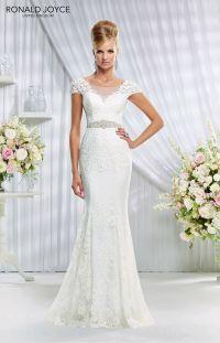 Wedding Dresses for Older Brides | Wedding dress, Illusion ...