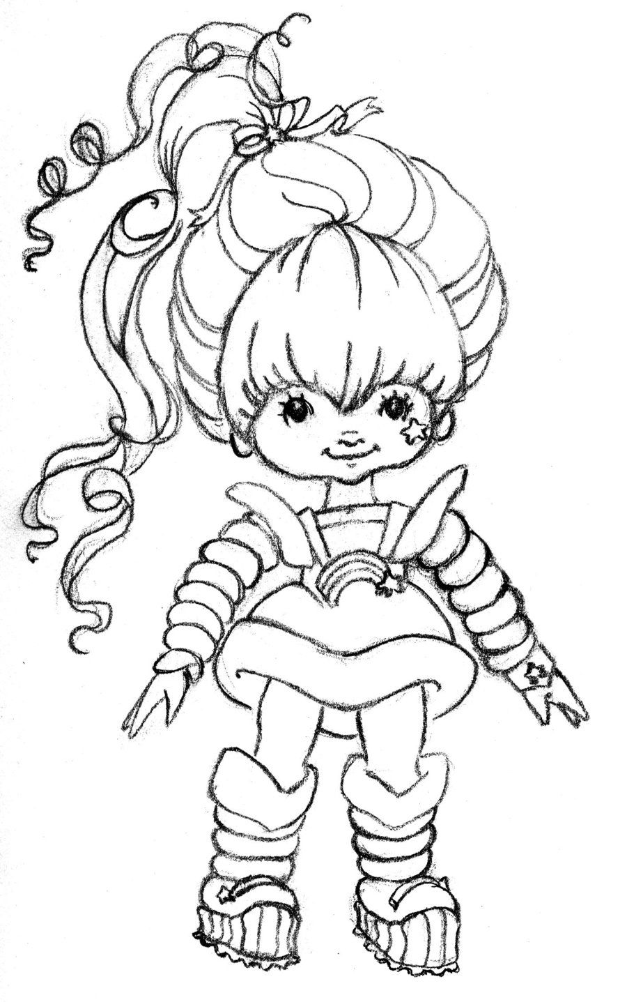 Images of rainbow bright coloring pages rainbow brite coloring pages coloring pages pictures