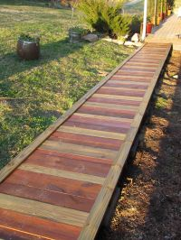 Out in the Stiks: A New Sidewalk http://outinthestiks