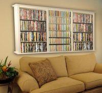 Dvd Storage Shelves on Pinterest | Dvd Wall Storage, Dvd ...