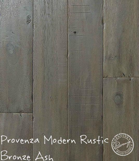 "Provenza Modern Rustic, Bronze Ash 6"" hand distressed"