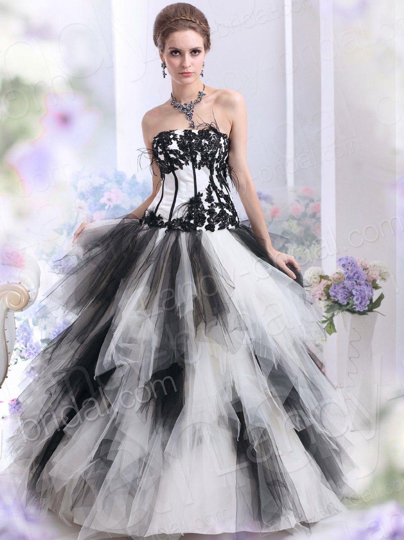 white wedding dress black and white gothic wedding dress Wallpaper
