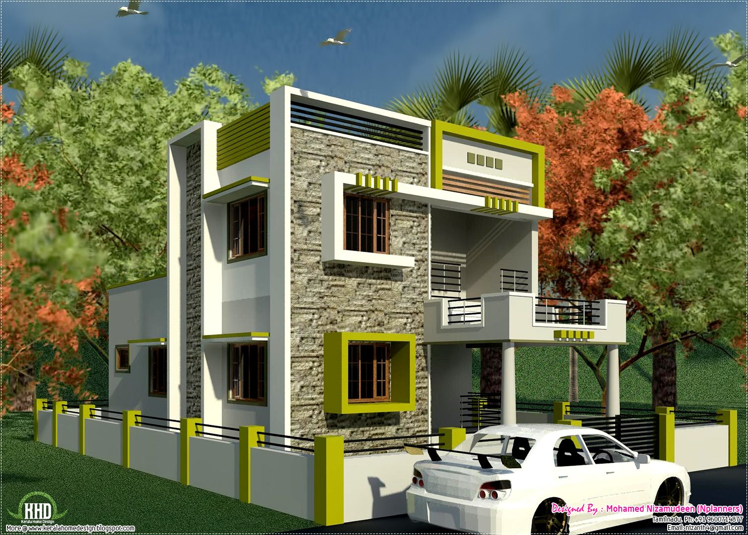 Small House Design Ideas India Small House With Car Park Design Tobfav Com Ideas For