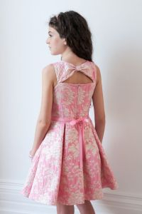 Presenting this pink dream prom dress for girls from David ...