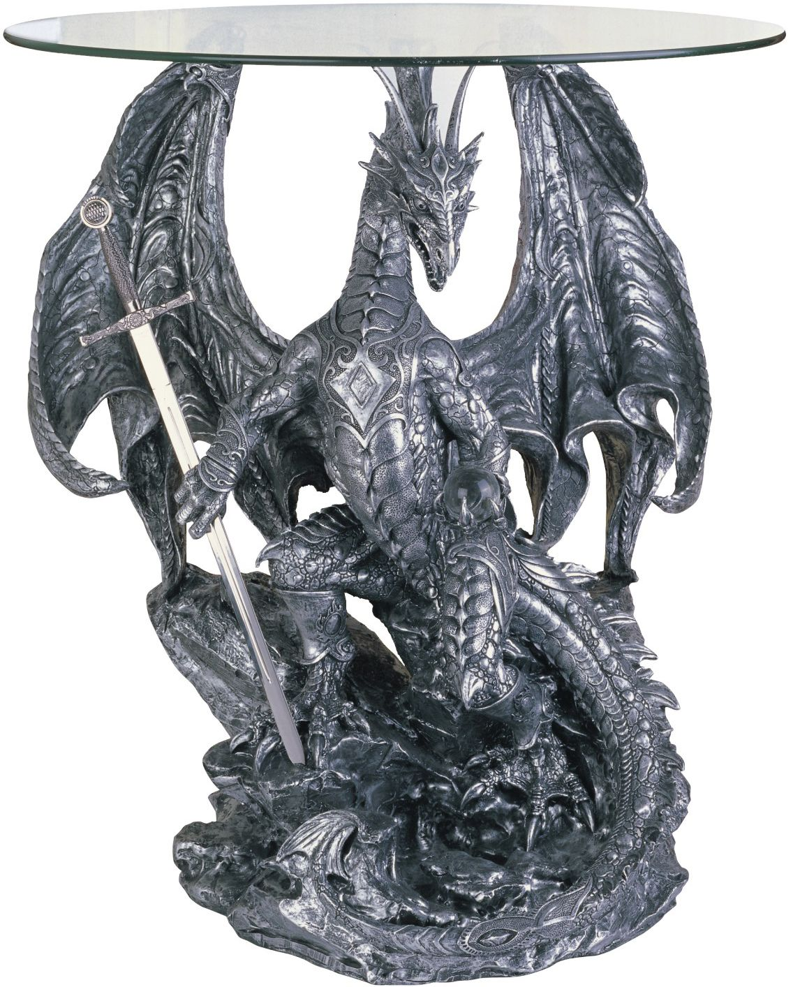Dragon Décoration Dragon Furniture | Dragon Furniture Collection End Table