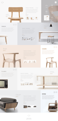 Web design inspiration | Layouts, Products and Website