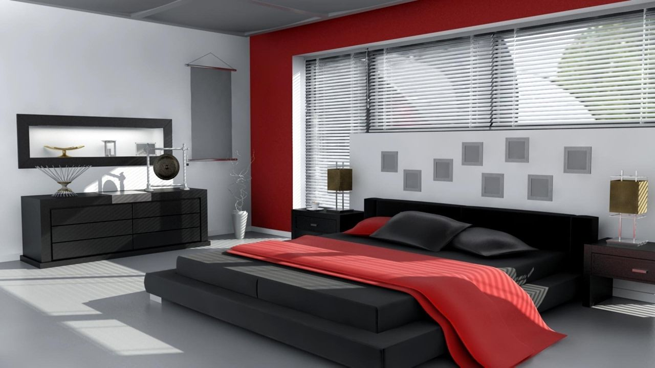 Red Rooms Decorating Best Of Modern Bedroom Design Ideas 2017 Almacenaje De Camas