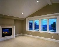 beadboard vaulted ceiling with recessed lighting | bonus ...