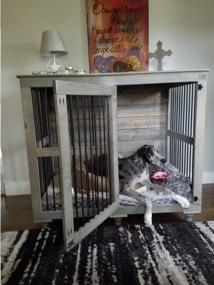 Cat Cage Indoor Great Dane Doggie Den® Furniture Taps And Built Ins