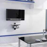 Amazon.com: 2xhome - TV Wall Mount with Shelf Up to 85 ...