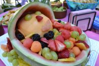 Baby Shower Food Ideas. Cheap Cute Fruit Salad For Baby ...