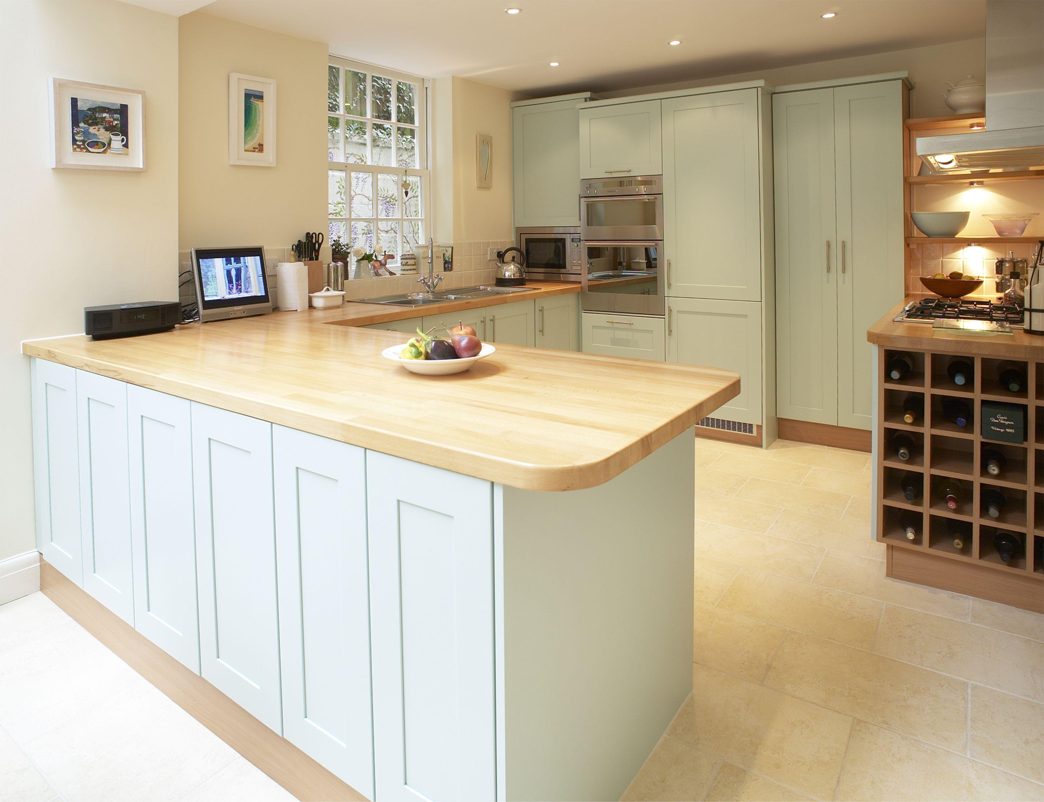 borrowdale warm oak kitchen