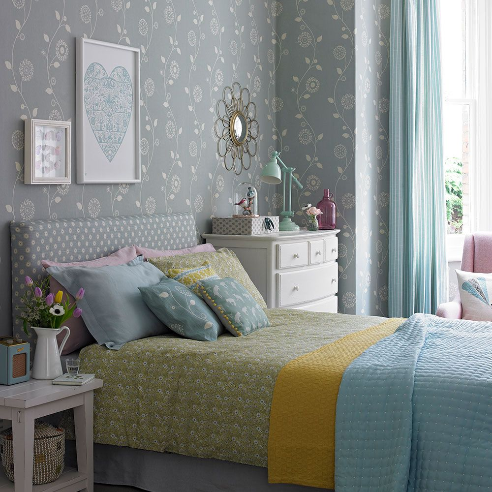 Duck Egg Wallpaper Bedroom Ideas Edwin King Size Bed, Pavilion | Bedrooms, Duck Egg Blue