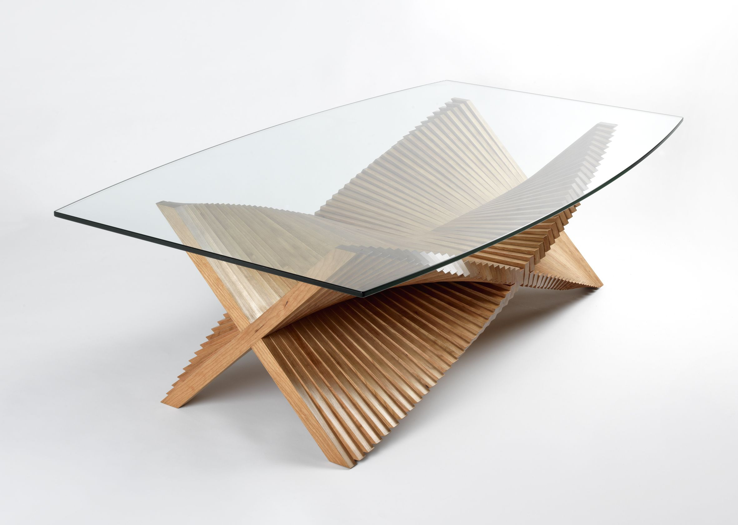 Sculptural Coffee Tables Beating Wings Handmade Sculptural Coffee Table By David