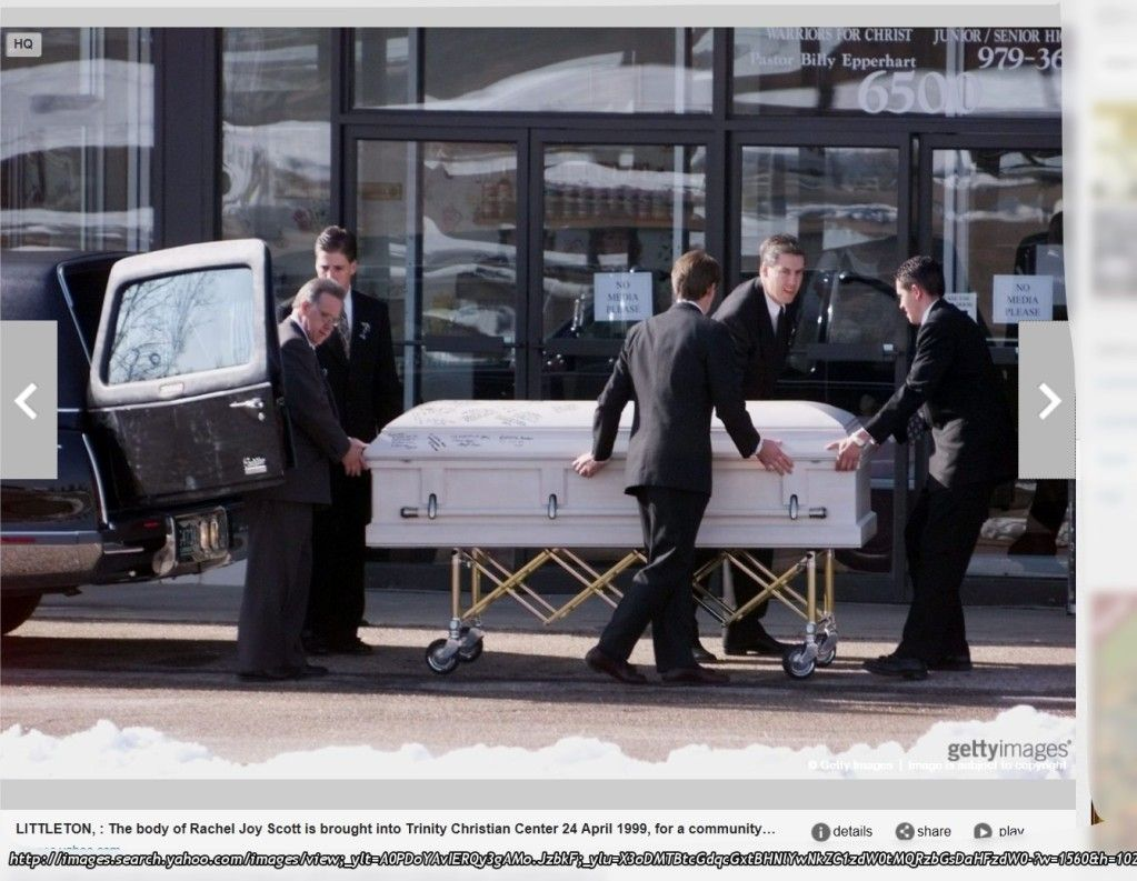 Columbine Rachel Scott Autopsy Body