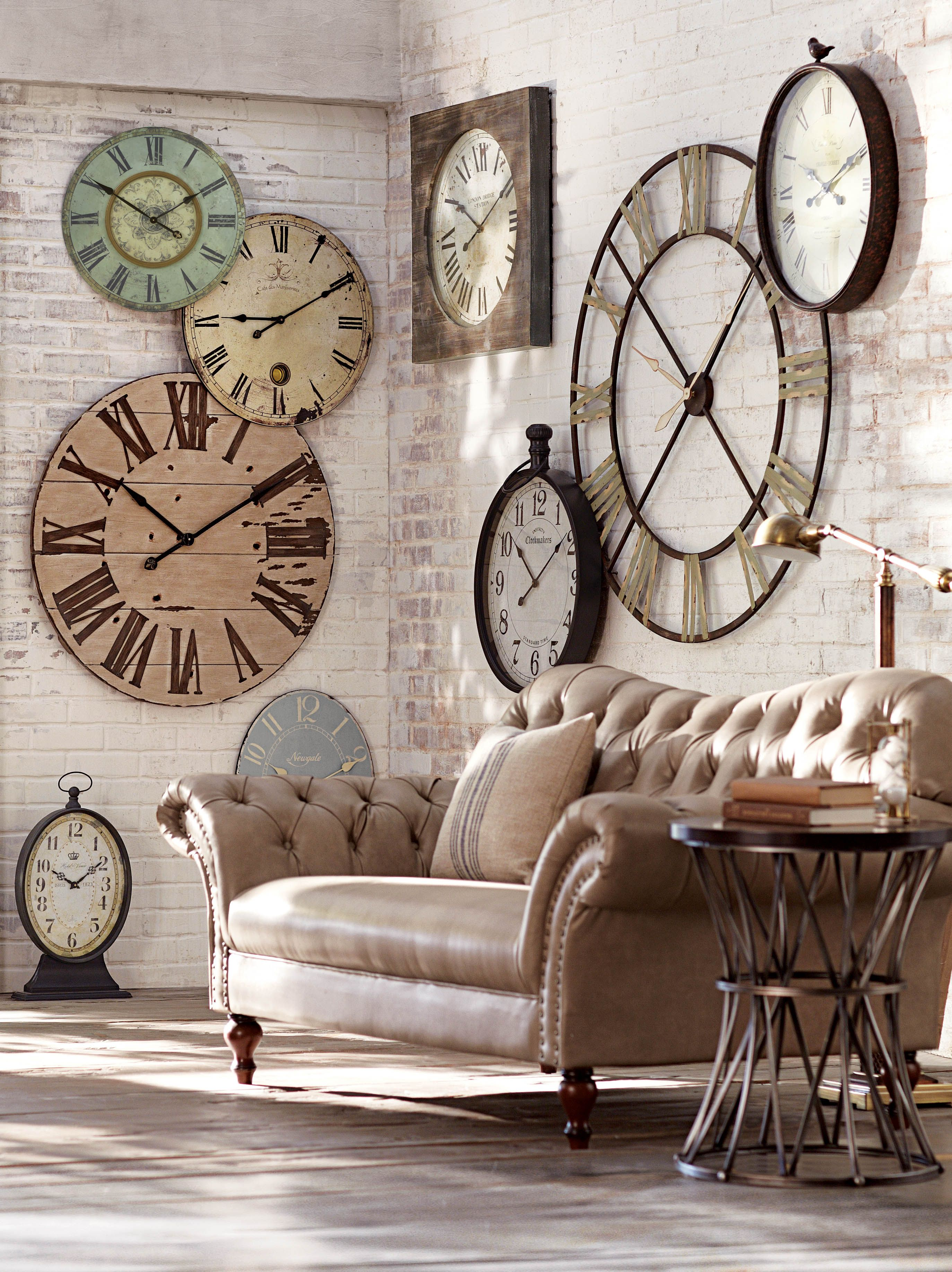 Statement Wall Clocks Is It Time For An Update Try A Statement Making Wall