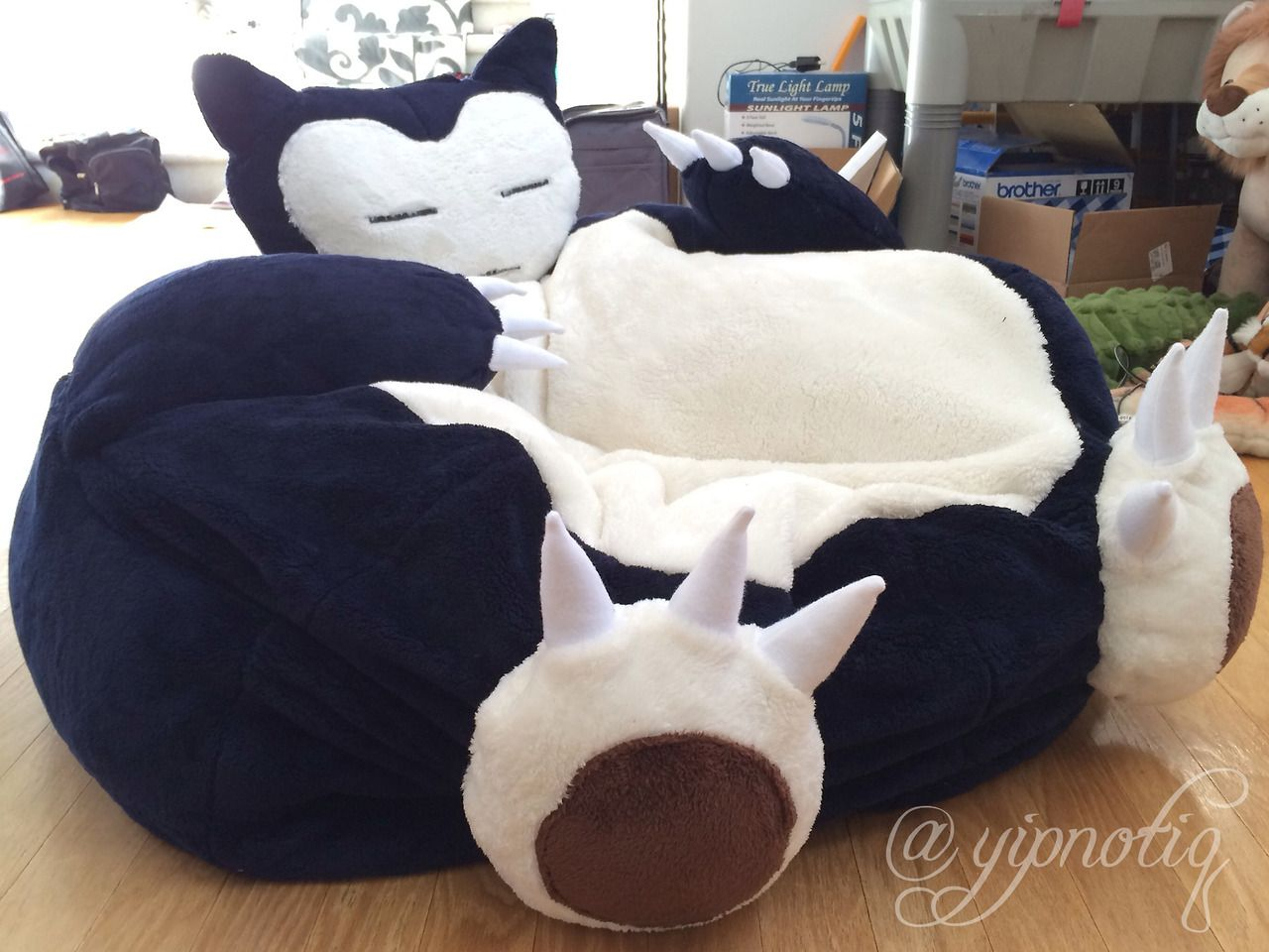 Relaxo Sitzkissen Snorlax Bed Pkmn Some Things Pinterest Posts