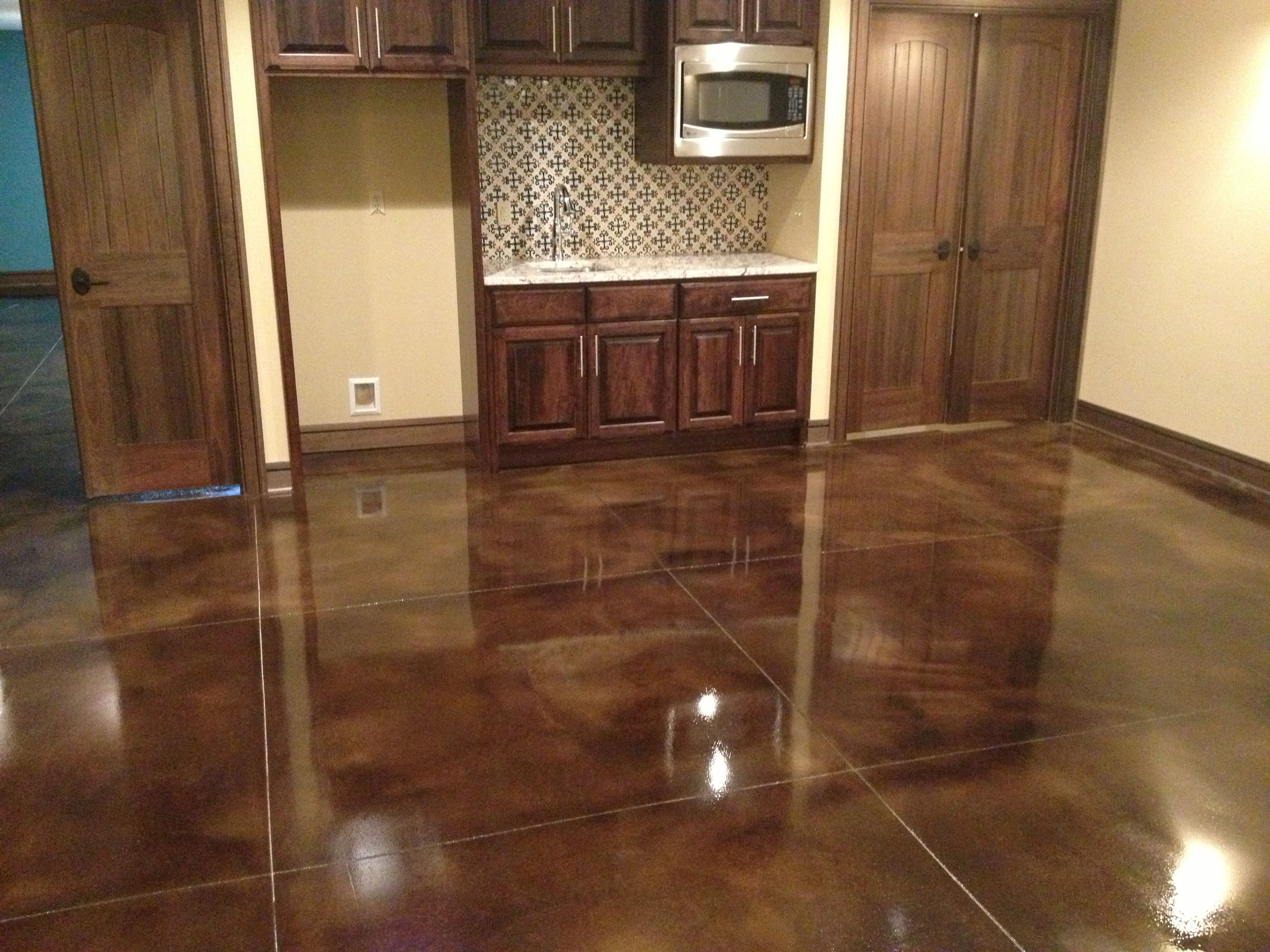 Finished Concrete Countertops They Create Customized Stained Concrete Polished Concrete