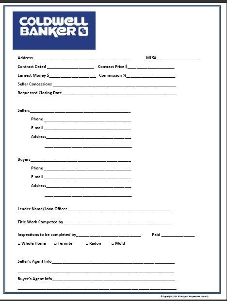 Buyer Contact Form Red Real Estate Forms Realtor Forms Tools For - sample open house sign in sheet template