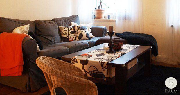 Wohnzimmer Orange Schwarz. Wohnzimmer Einrichten Ideen Weiss