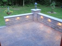 Stone Knee Wall for Patio | Retaining Wall-image-2 ...