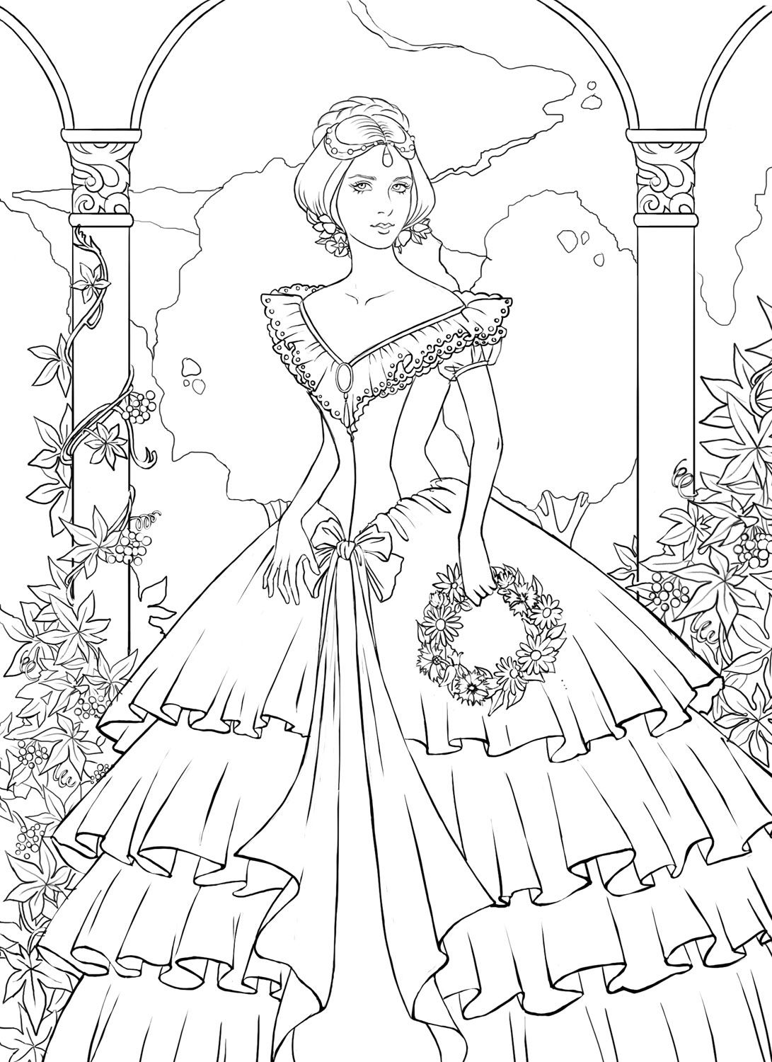 Detailed coloring pages for adults detailed coloring pages
