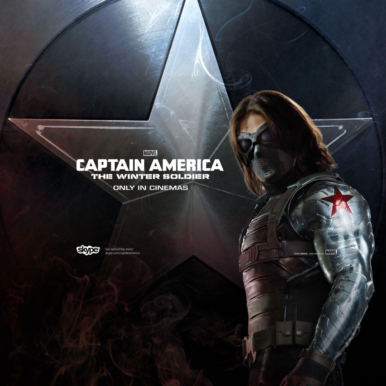 Cute Stucky Iphone Wallpaper Captain America The Winter Soldier Photos Captain