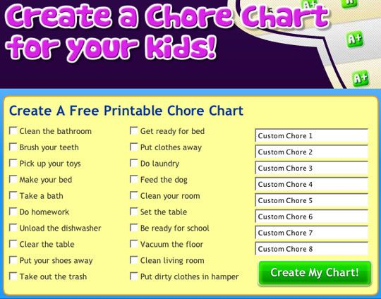 Sample Chore Charts Kids Chore Chart Best 20+ Child Chore Chart - sample chore chart