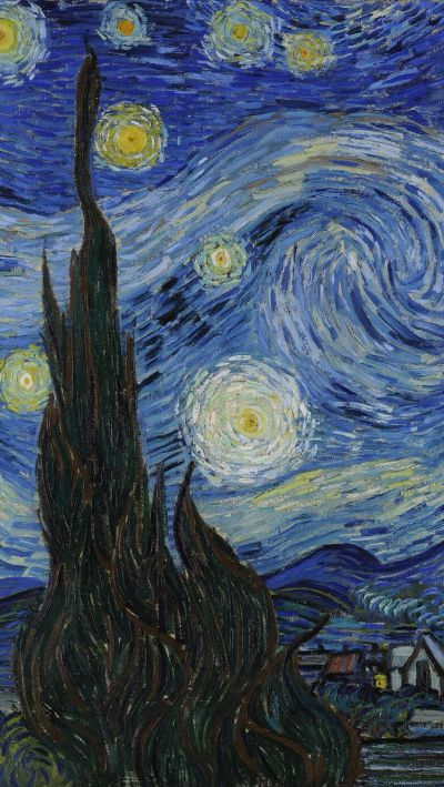Van Gogh's painting in iPhone wallpaper | // wallpapers ...