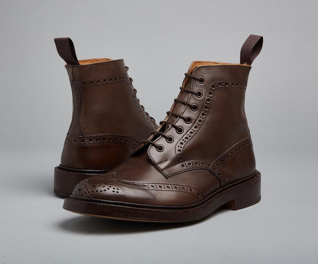 Stow Espresso Country Boot The Original Handmade English