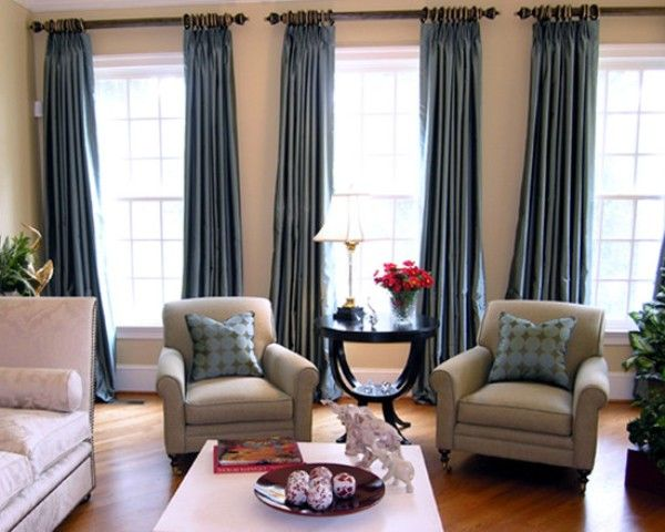 18 Adorable Curtains Ideas For Your Living Room Curtain ideas - teal living room curtains
