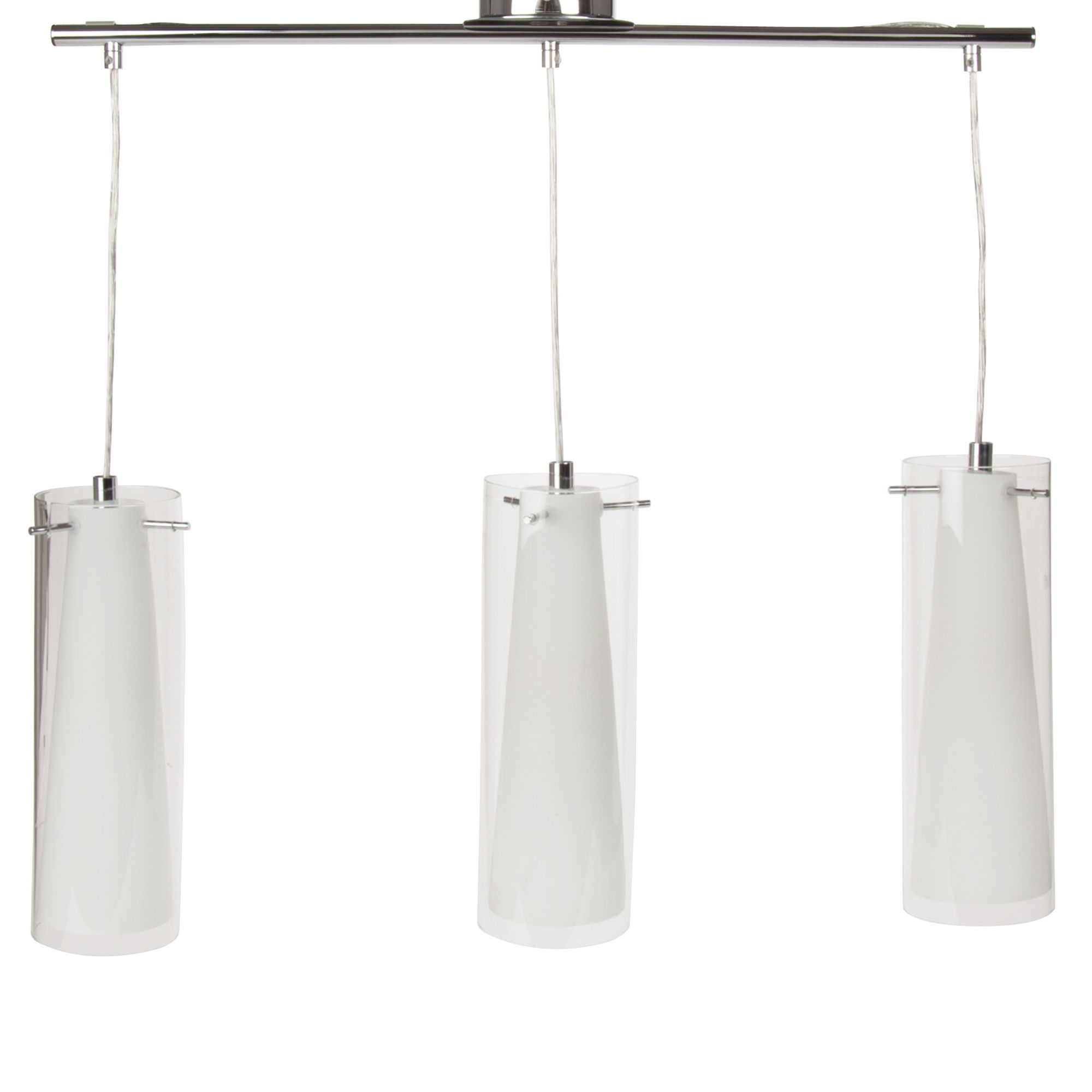 Suspension Luminaire Alinea Free Stunning Suspension Lumires Chrome Verre Transparent