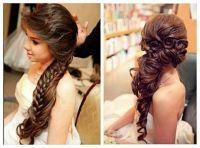 Bridal hair - wedding day - wedding hairstyles for long ...