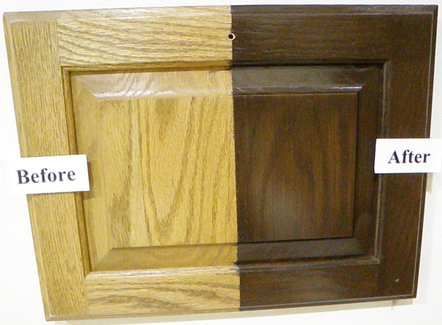 How To Strip And Refinish Kitchen Cabinets How To Transform Oak Cabinets Cabinet Refinishing