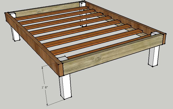 Bed frame diy bed frame wood bed frames wood beds bed frame plans bed