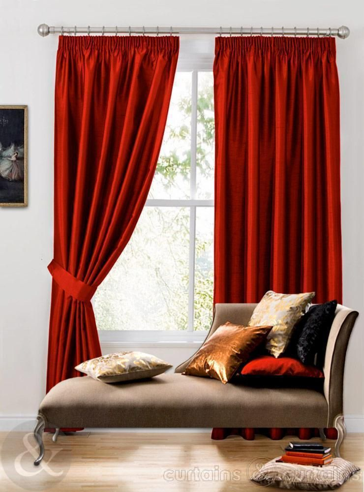 Black And Red Curtains For Living Room Minimalist Small Living - red curtains for living room